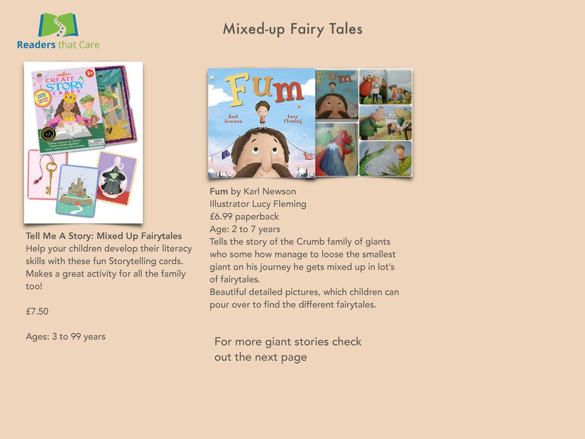 Mixed-up Fairy Tales  Tell Me A Story  Mixed Up Fairytales Help your children develop their literacy skills with these fun...