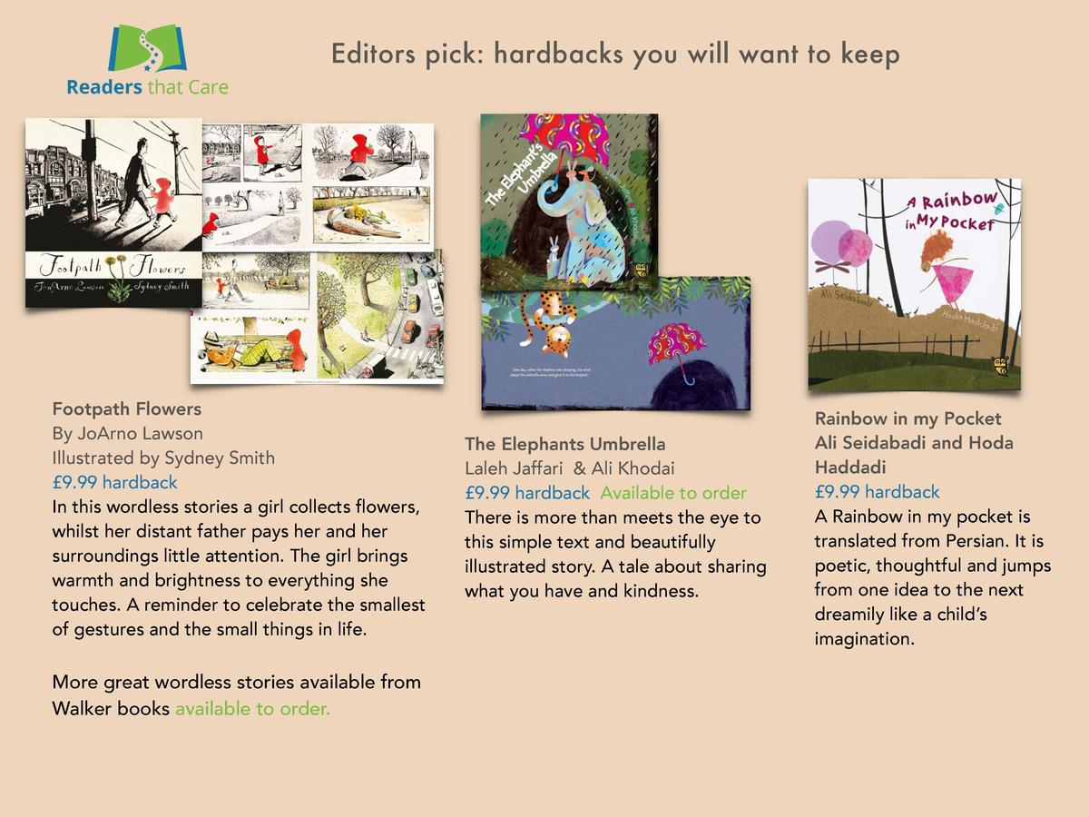 Editors pick  hardbacks you will want to keep  Footpath Flowers By JoArno Lawson Illustrated by Sydney Smith   9.99 hardba...