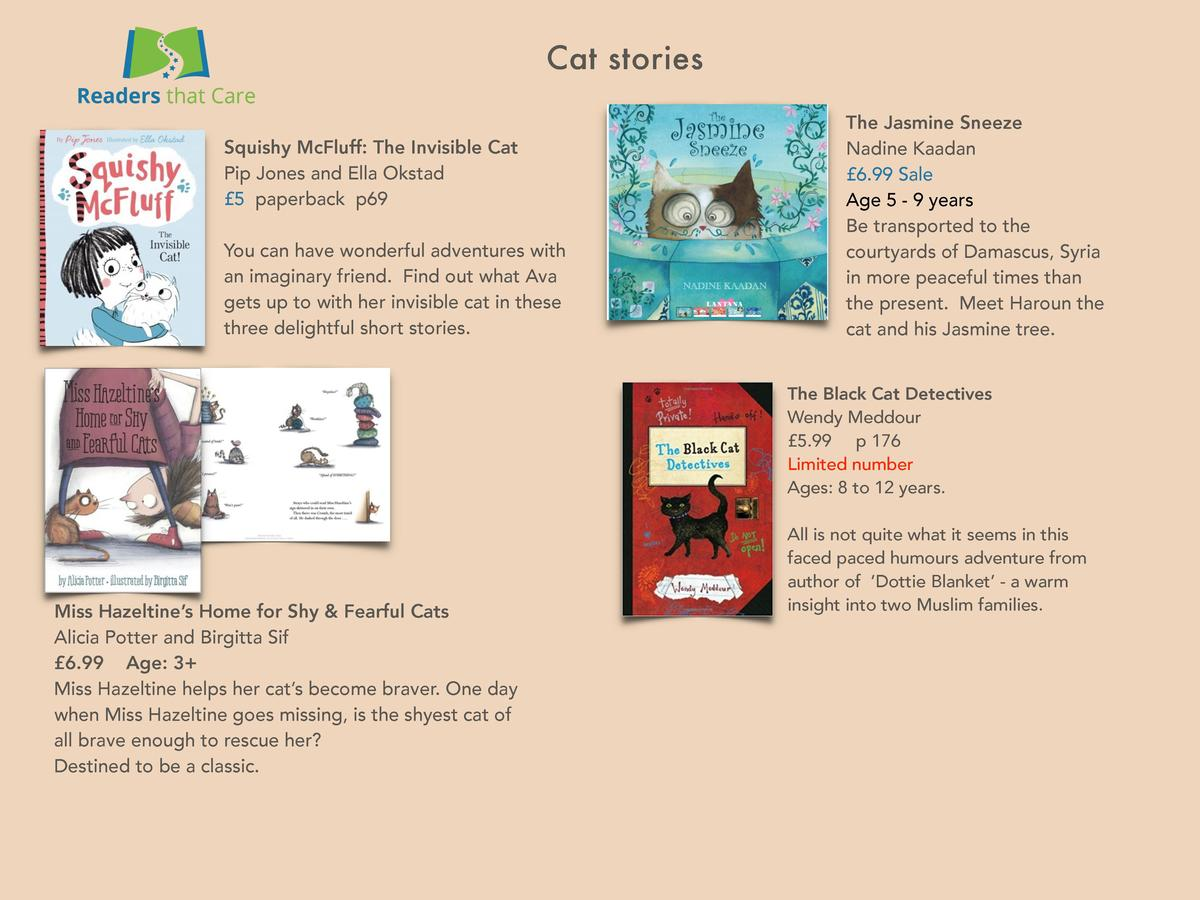 Cat stories Squishy McFluff  The Invisible Cat Pip Jones and Ella Okstad   5 paperback p69 You can have wonderful adventur...