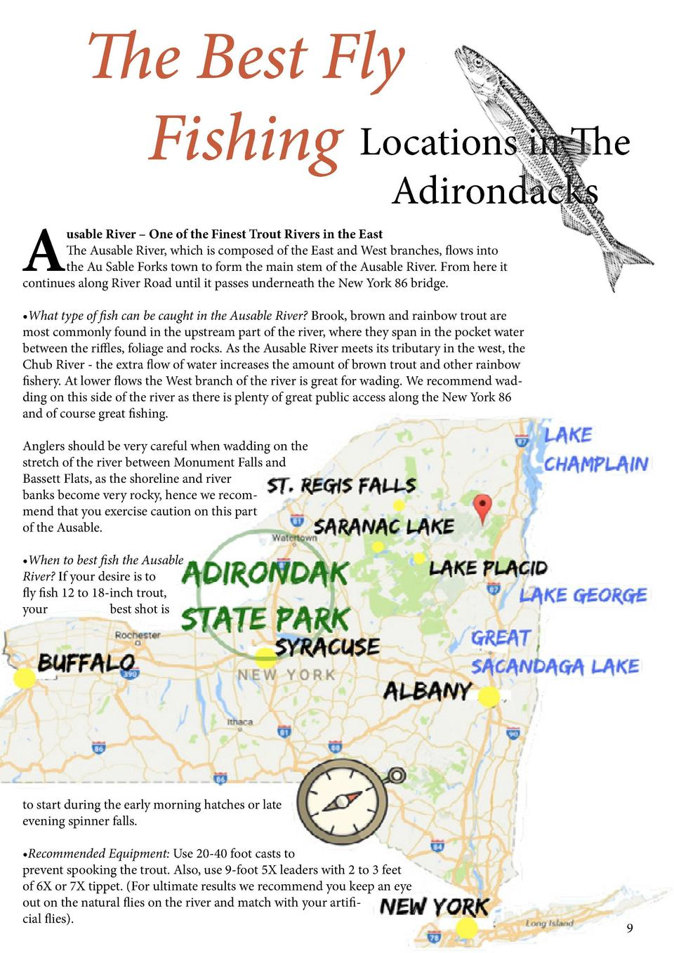 The Best Fly Fishing Locations in The  A guide to Crua Outdoors     Fly Fishing in The Adirondacks, NY Adirondacks Nationa...