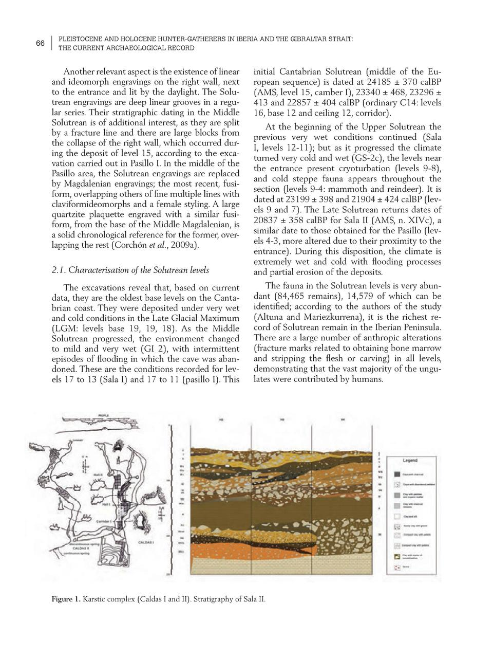 66  PLEISTOCENE AND HOLOCENE HUNTER-GATHERERS IN IBERIA AND THE GIBRALTAR STRAIT  THE CURRENT ARCHAEOLOGICAL RECORD  Anoth...