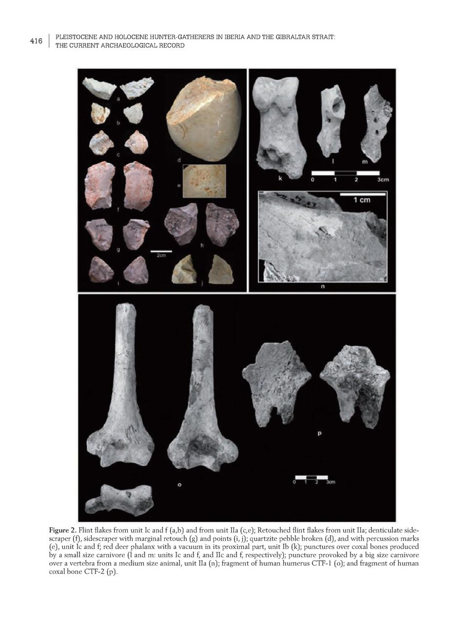 416  PLEISTOCENE AND HOLOCENE HUNTER-GATHERERS IN IBERIA AND THE GIBRALTAR STRAIT  THE CURRENT ARCHAEOLOGICAL RECORD  Figu...