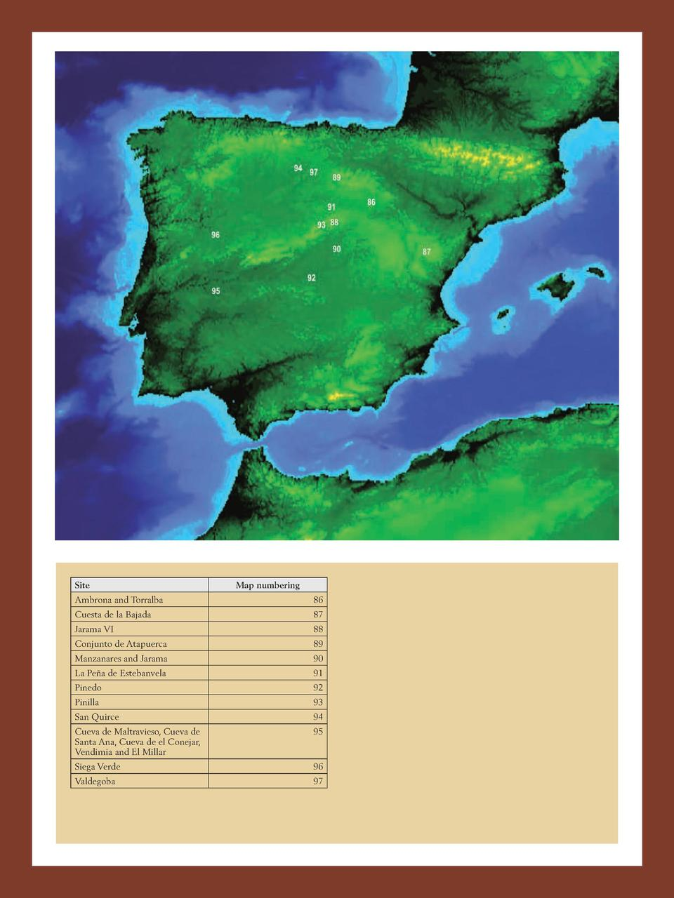 516  PLEISTOCENE AND HOLOCENE HUNTER-GATHERERS IN IBERIA AND THE GIBRALTAR STRAIT  THE CURRENT ARCHAEOLOGICAL RECORD  Site...