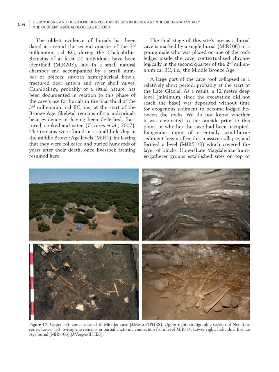 554  PLEISTOCENE AND HOLOCENE HUNTER-GATHERERS IN IBERIA AND THE GIBRALTAR STRAIT  THE CURRENT ARCHAEOLOGICAL RECORD  The ...