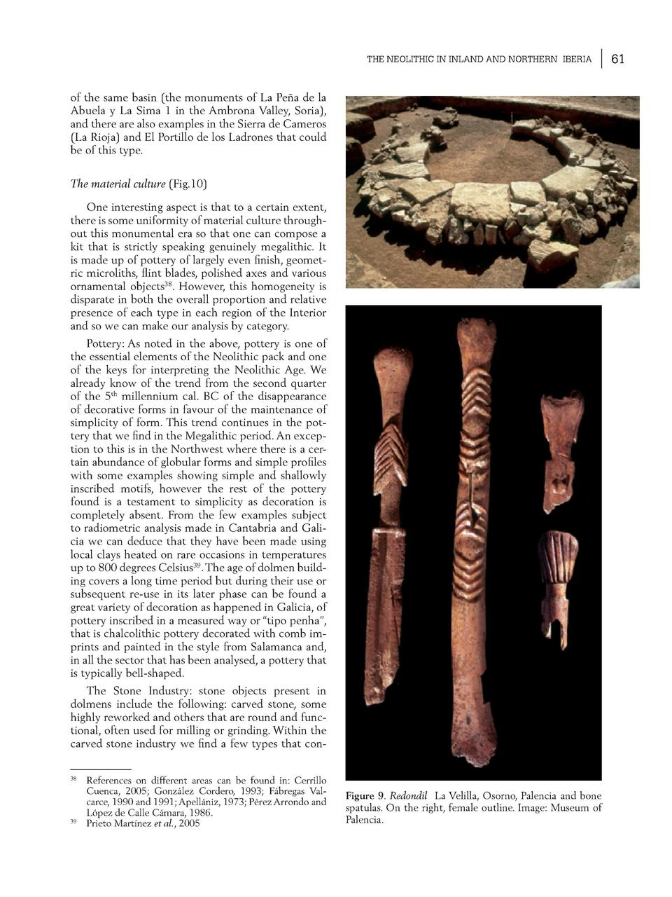 THE NEOLITHIC IN INLAND AND NORTHERN IBERIA  of the same basin  the monuments of La Pe  a de la Abuela y La Sima 1 in the ...