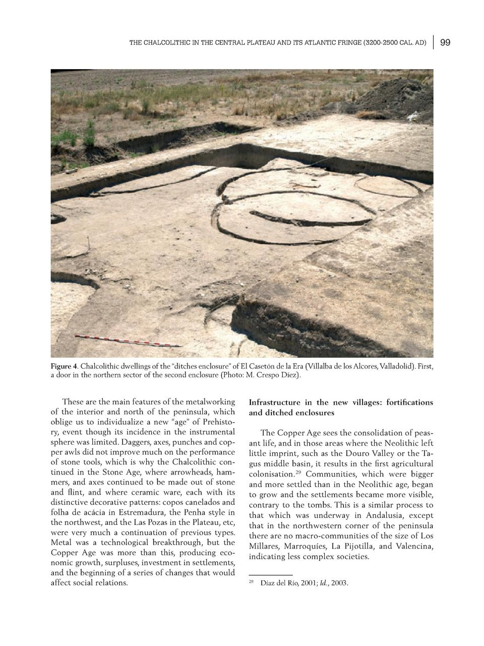 THE CHALCOLITHIC IN THE CENTRAL PLATEAU AND ITS ATLANTIC FRINGE  3200-2500 CAL. AD   Figure 4. Chalcolithic dwellings of t...