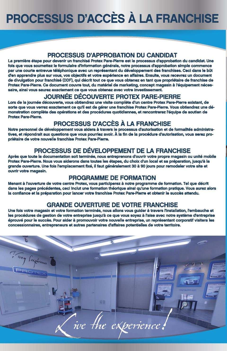 Protex Franchise_mode Cahier_FR.pdf  C  M  J  CM  MJ  CJ  CMJ  N  3  15-09-29  15 40