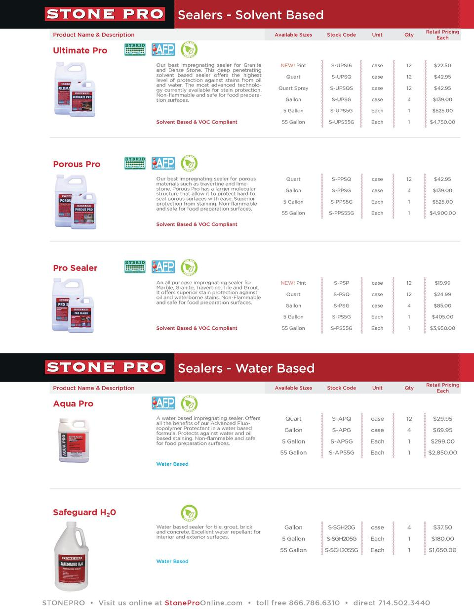 Stone Pro Products Simplebooklet Com