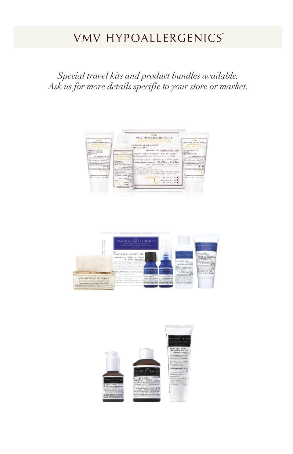 V M V H Y P OA L L E R G E N I C S      Special travel kits and product bundles available. Ask us for more details specifi...