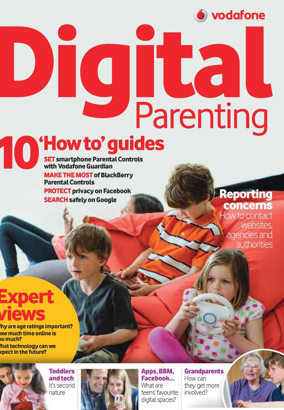 Digital Parenting Issue 2  a selection of comments from Vodafone   s evaluation of Digital Parenting Issue 1      a truly ...