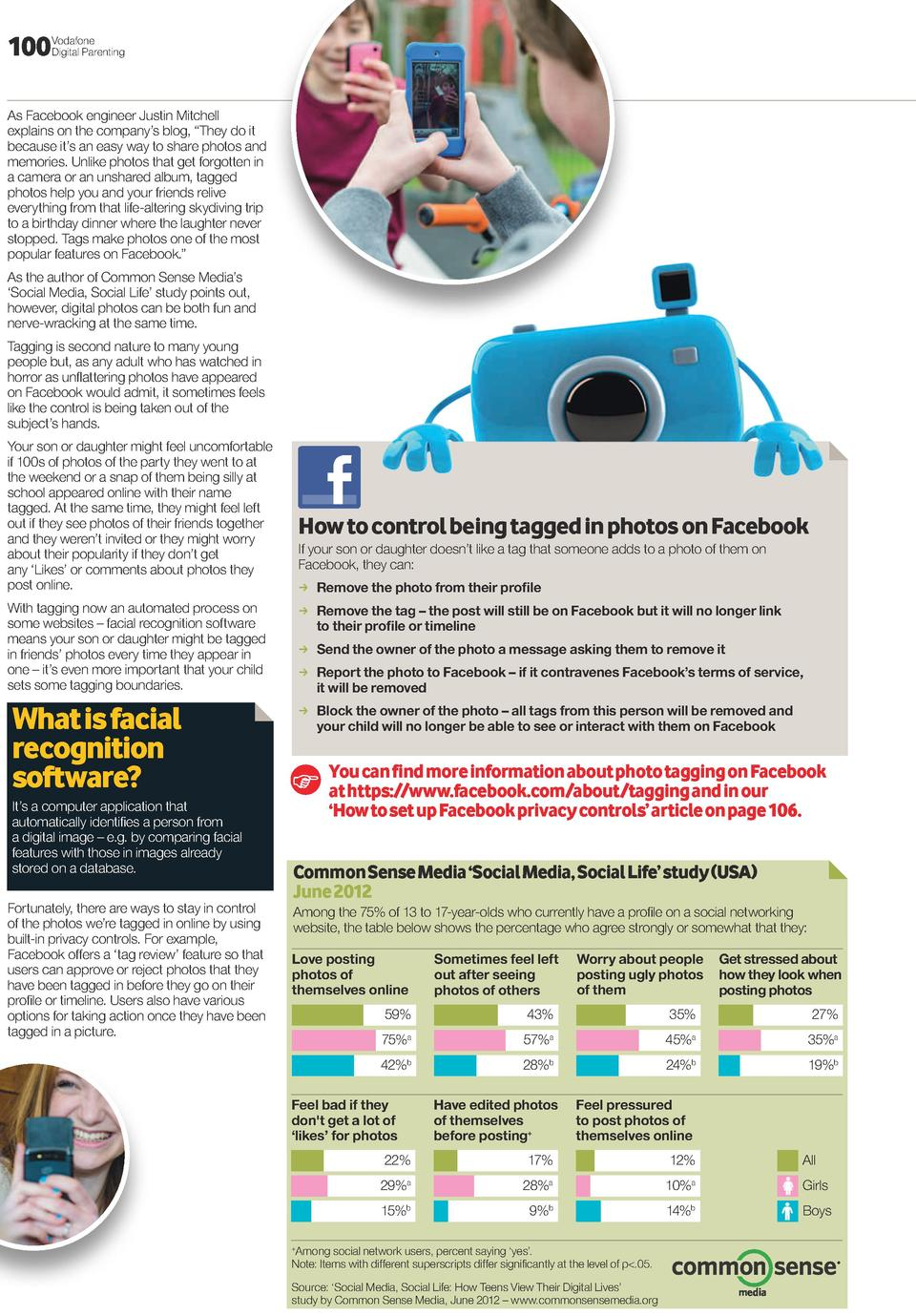 100  Vodafone Digital Parenting  As Facebook engineer Justin Mitchell explains on the company   s blog,    They do it beca...