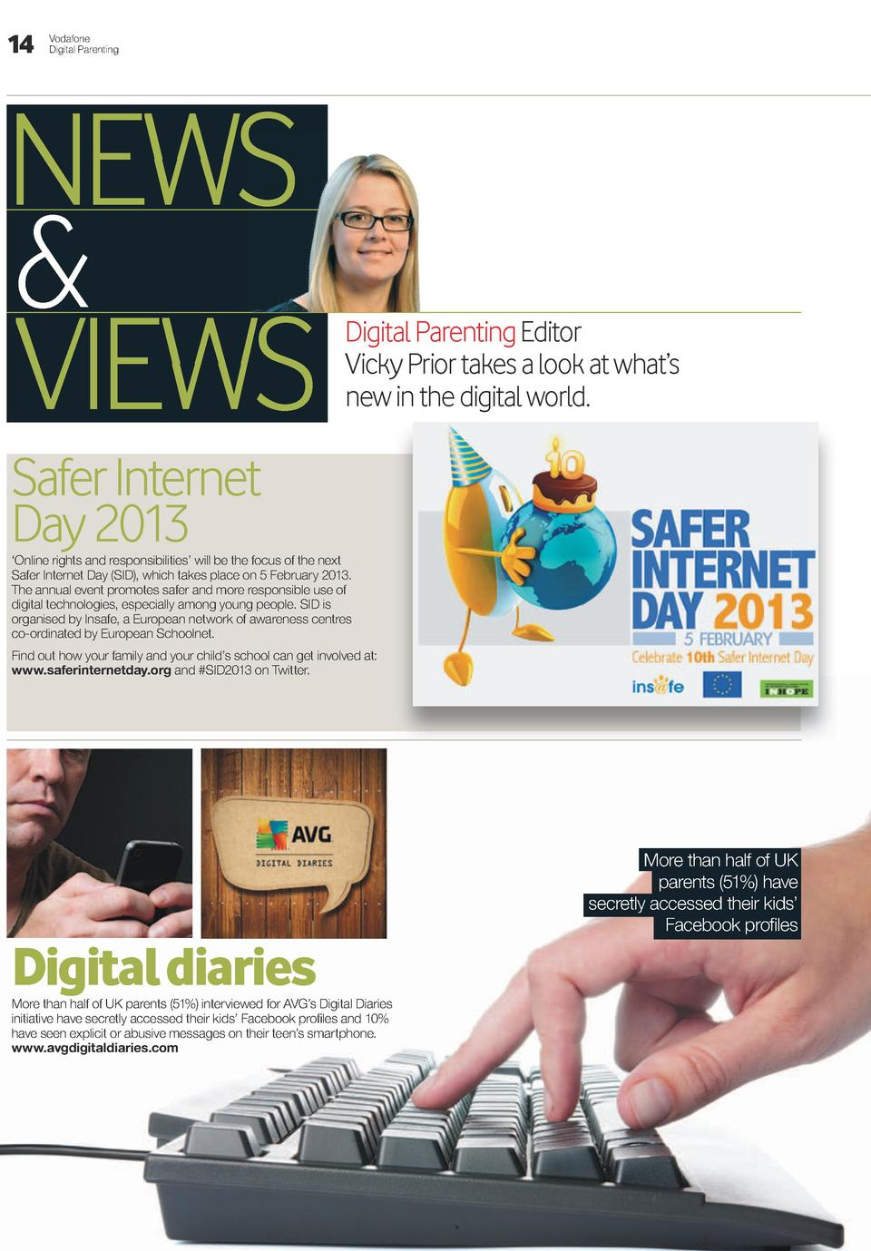 14  Vodafone Digital Parenting  NEWS   VIEWS  Digital Parenting Editor Vicky Prior takes a look at what   s new in the dig...