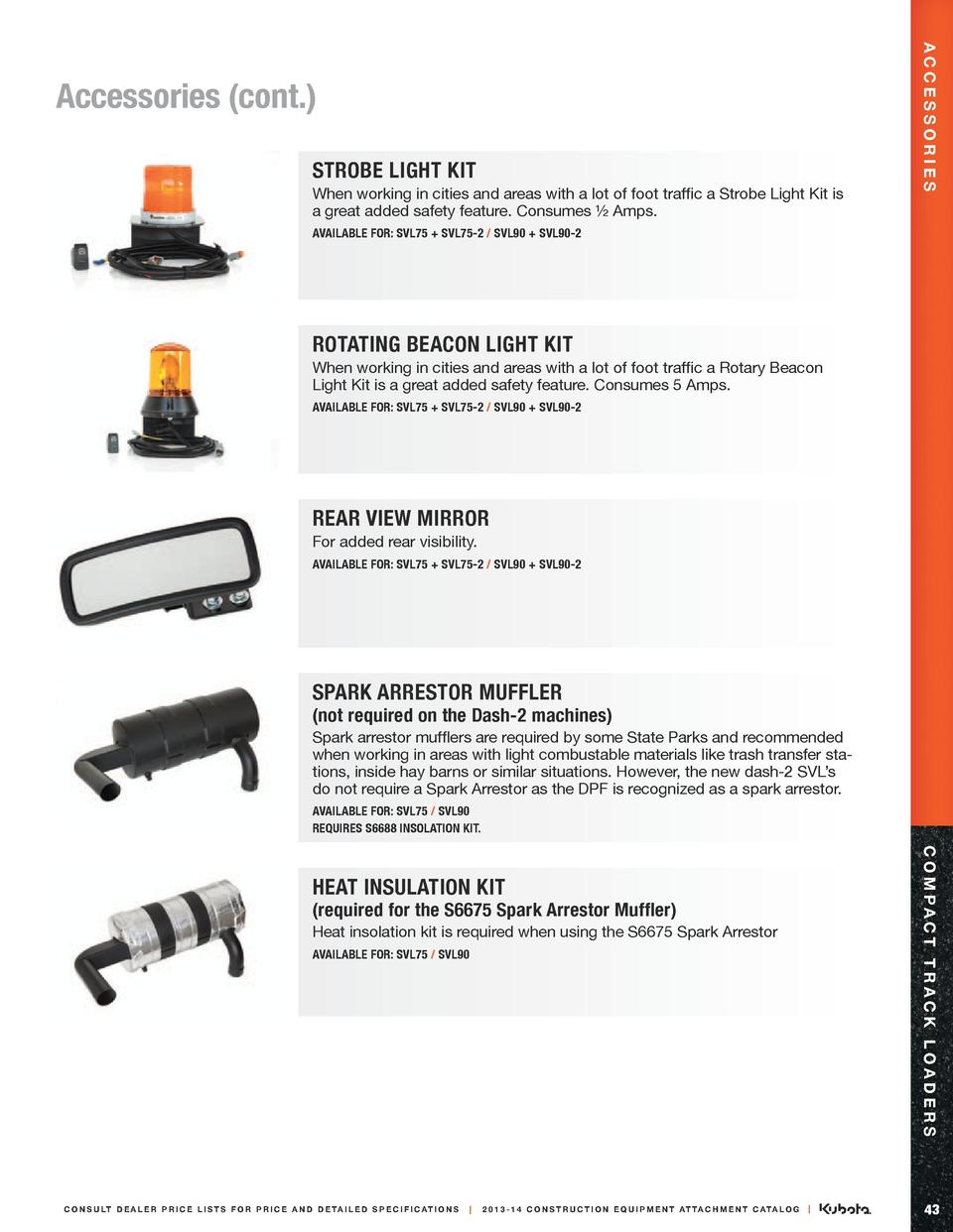 Strobe Light Kit When working in cities and areas with a lot of foot traffic a Strobe Light Kit is a great added safety fe...