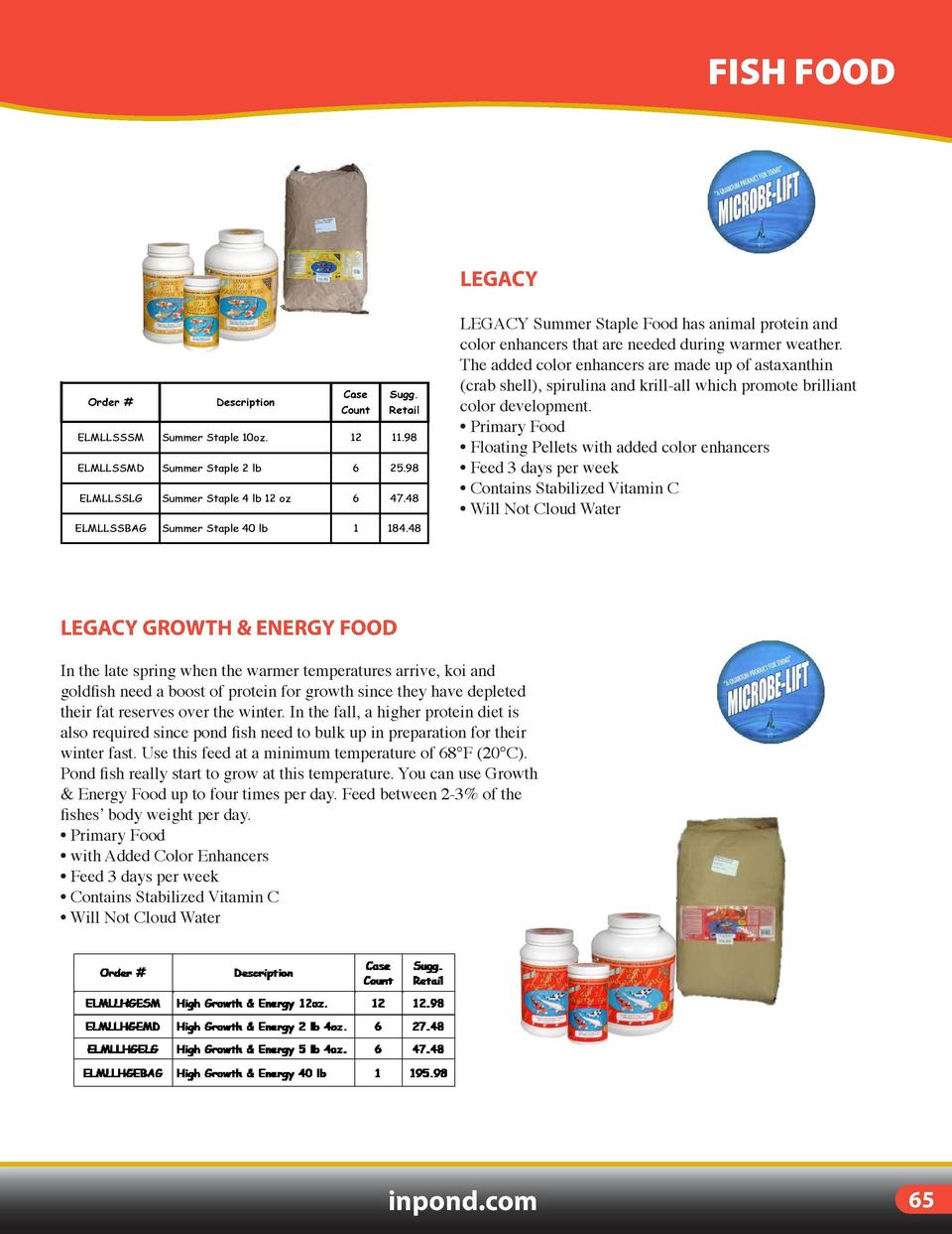 FISH TREATMENTS  FISH FOOD  LEGACY  MELAFIX Antibacterial treatment for Koi and goldfish. Melafix is an all-natural medica...