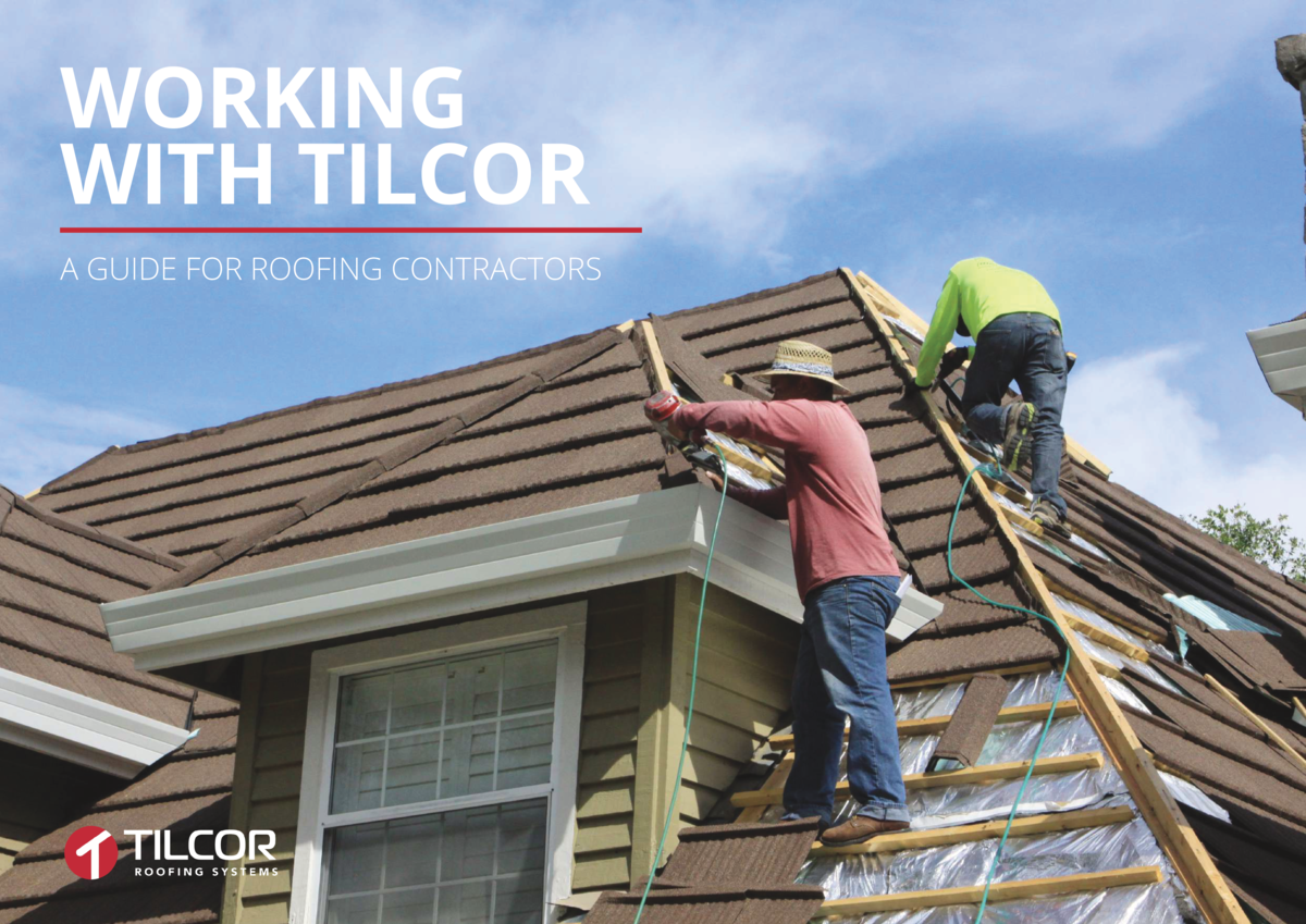 WORKING WITH TILCOR A GUIDE FOR ROOFING CONTRACTORS  2  3