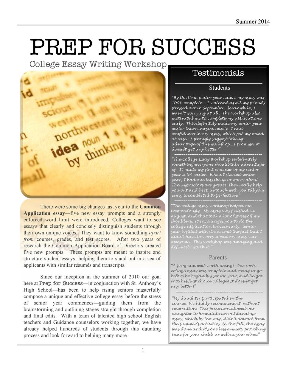 essay about students success Can you predict academic success or whether a  i give my students the grit scale  edutopia® and lucas education research™ are trademarks or.