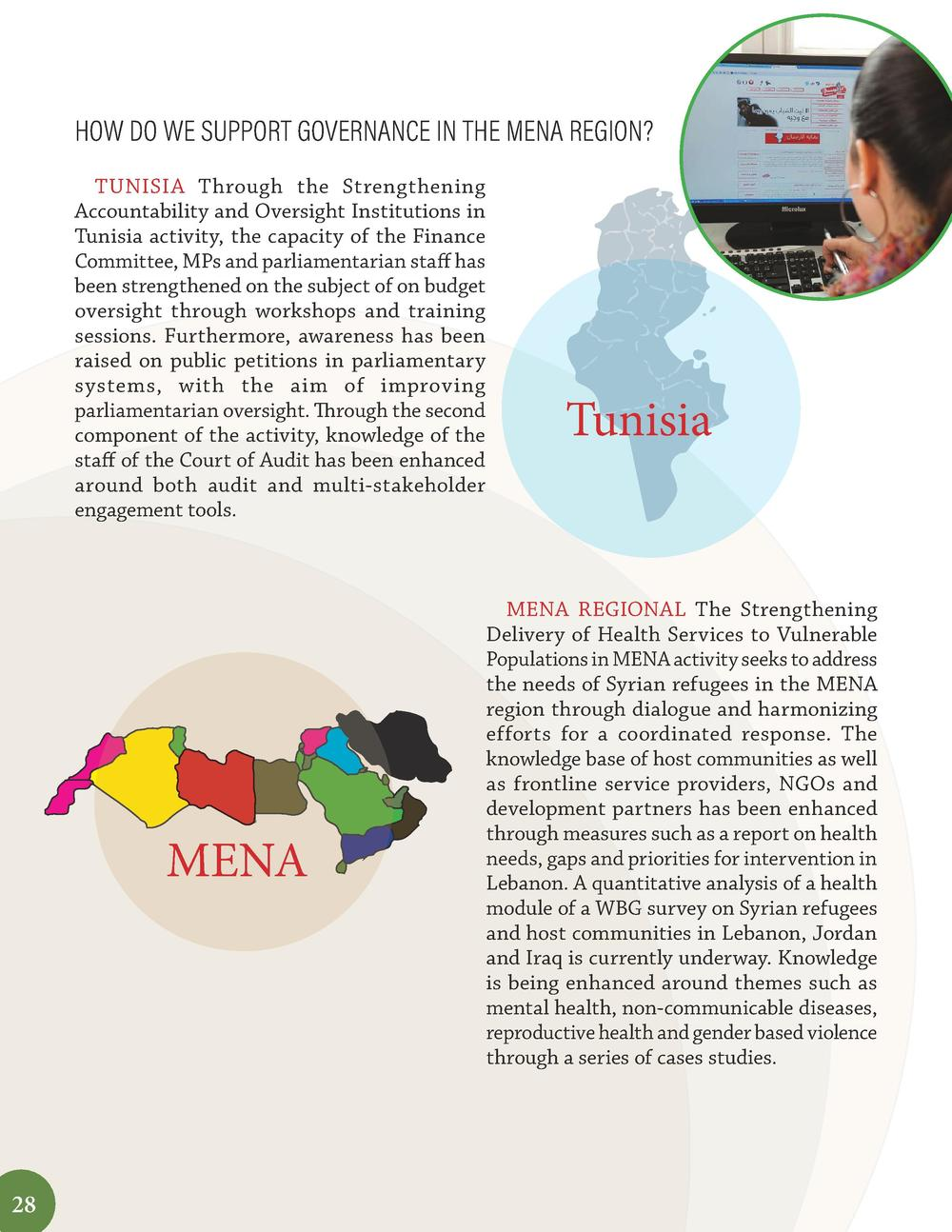 HOW DO WE SUPPORT GOVERNANCE IN THE MENA REGION  TUNISIA Through the Strengthening Accountability and Oversight Institutio...
