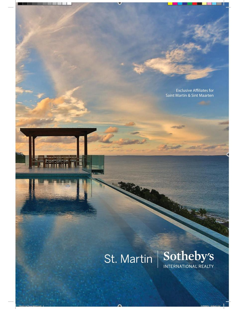 Exclusive Affiliates for Saint Martin   Sint Maarten  Brochure Cover 2016.indd 1  11 3 2015 9 52 53 AM