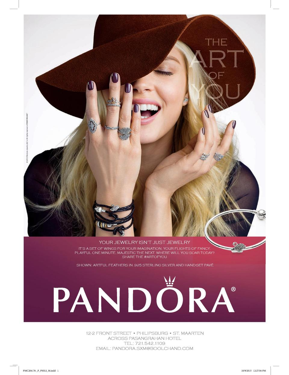 2015 Pandora Jewelry, LLC     All rights reserved     PANDORA.NET  YOUR JEWELRY ISN   T JUST JEWELRY IT   S A SET OF WI...
