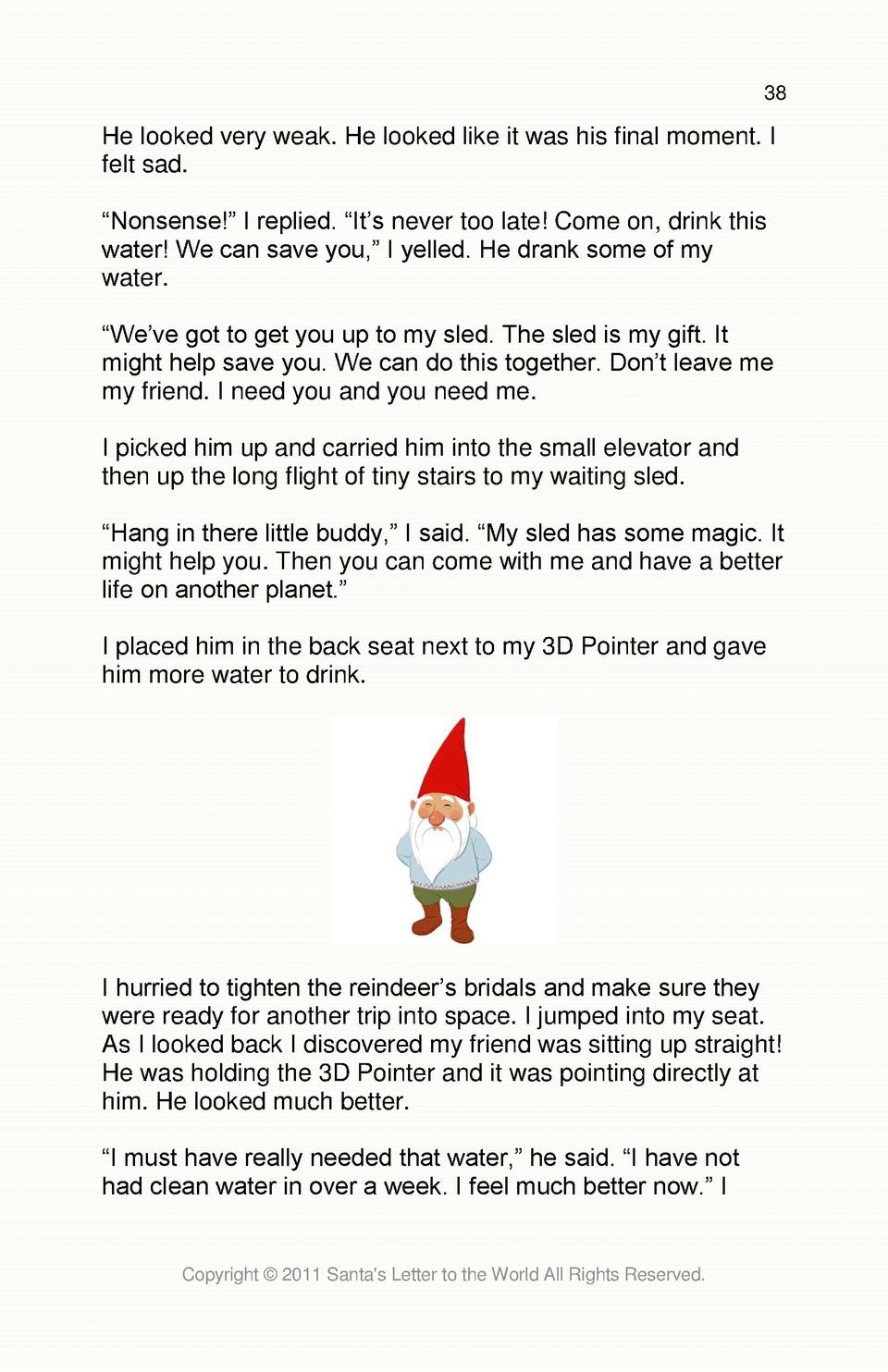 Santa s Letter to the World simplebooklet