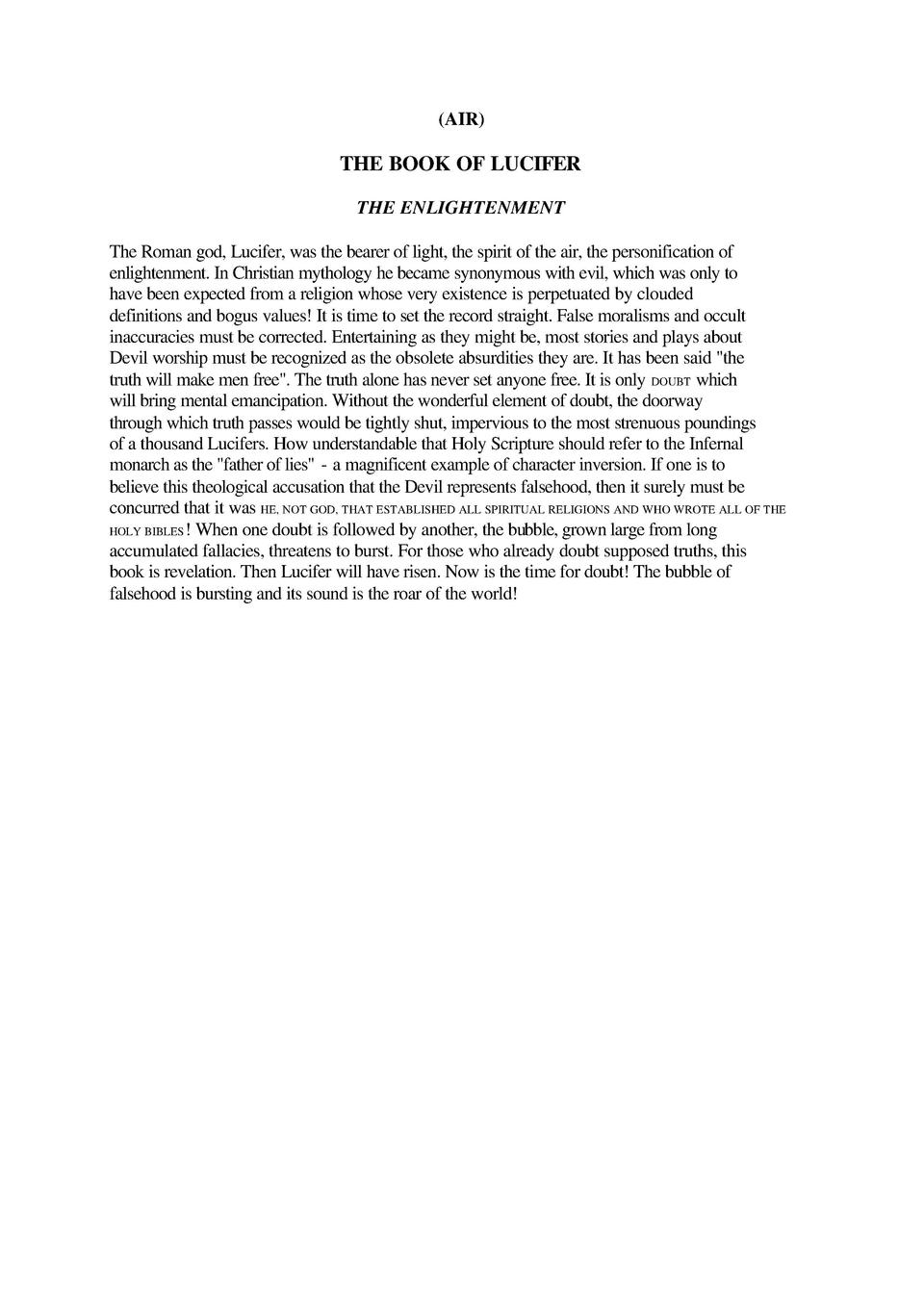 the book of lucifer the enlightenment pdf