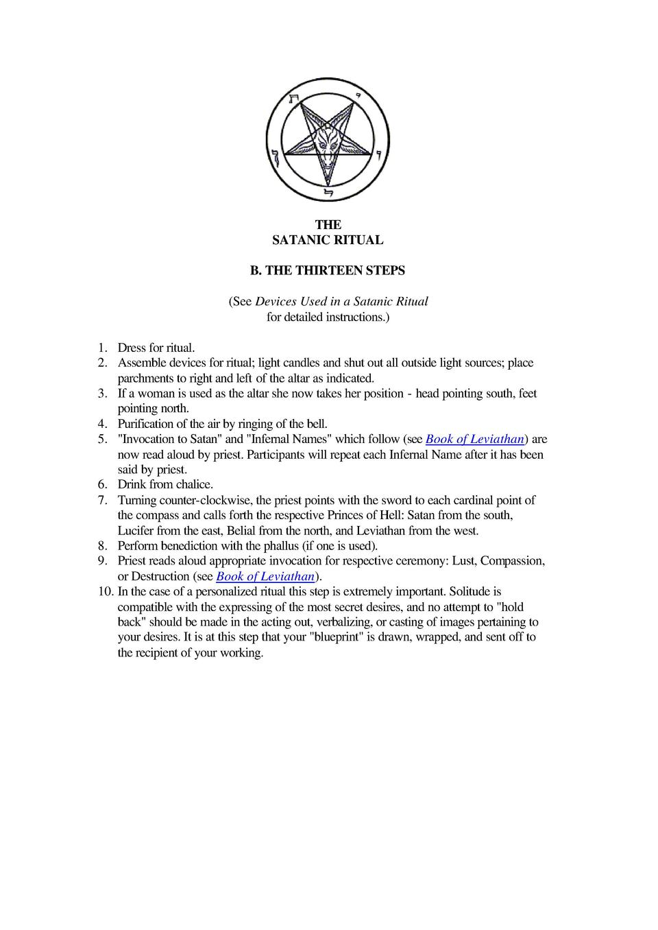 The Satanic Bible : simplebooklet com