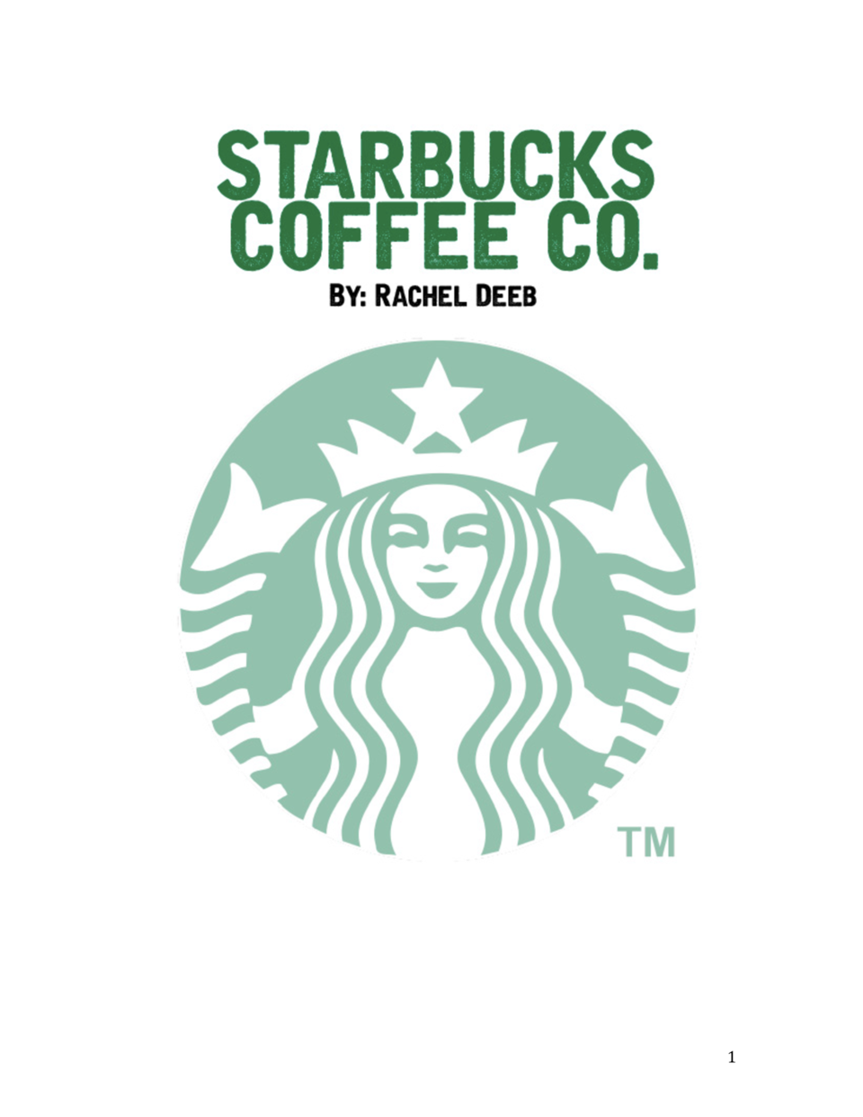 the communication objective of starbucks You've developed your objectives and identified the key elements of your strategic plan  strategic planning communication  the original objective behind.