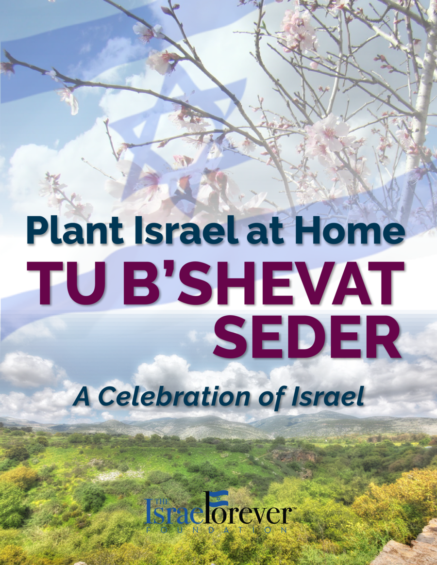 Plant Israel at Home  TU B   SHEVAT SEDER A Celebration of Israel