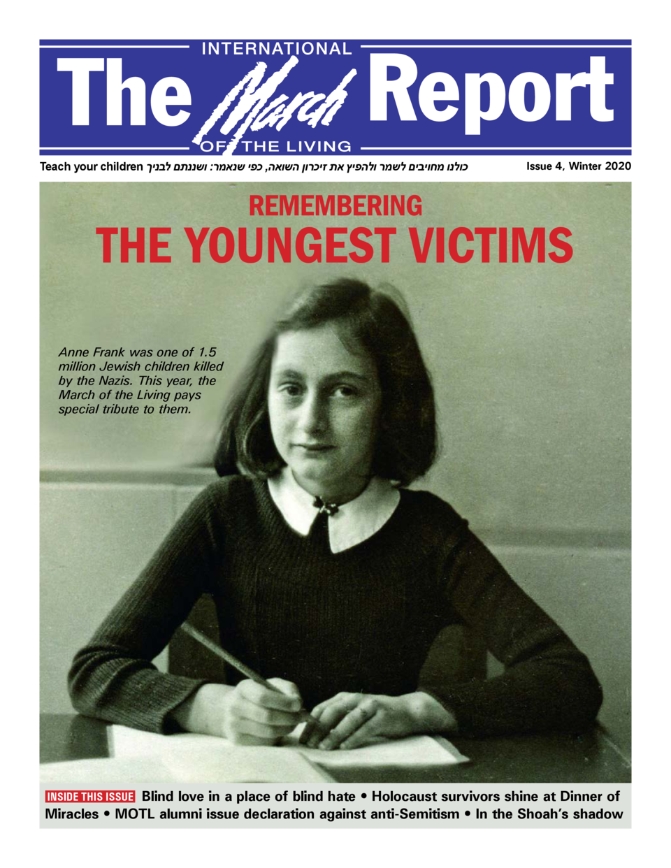 The  Report  Teach your children                                                        ,                                 ...