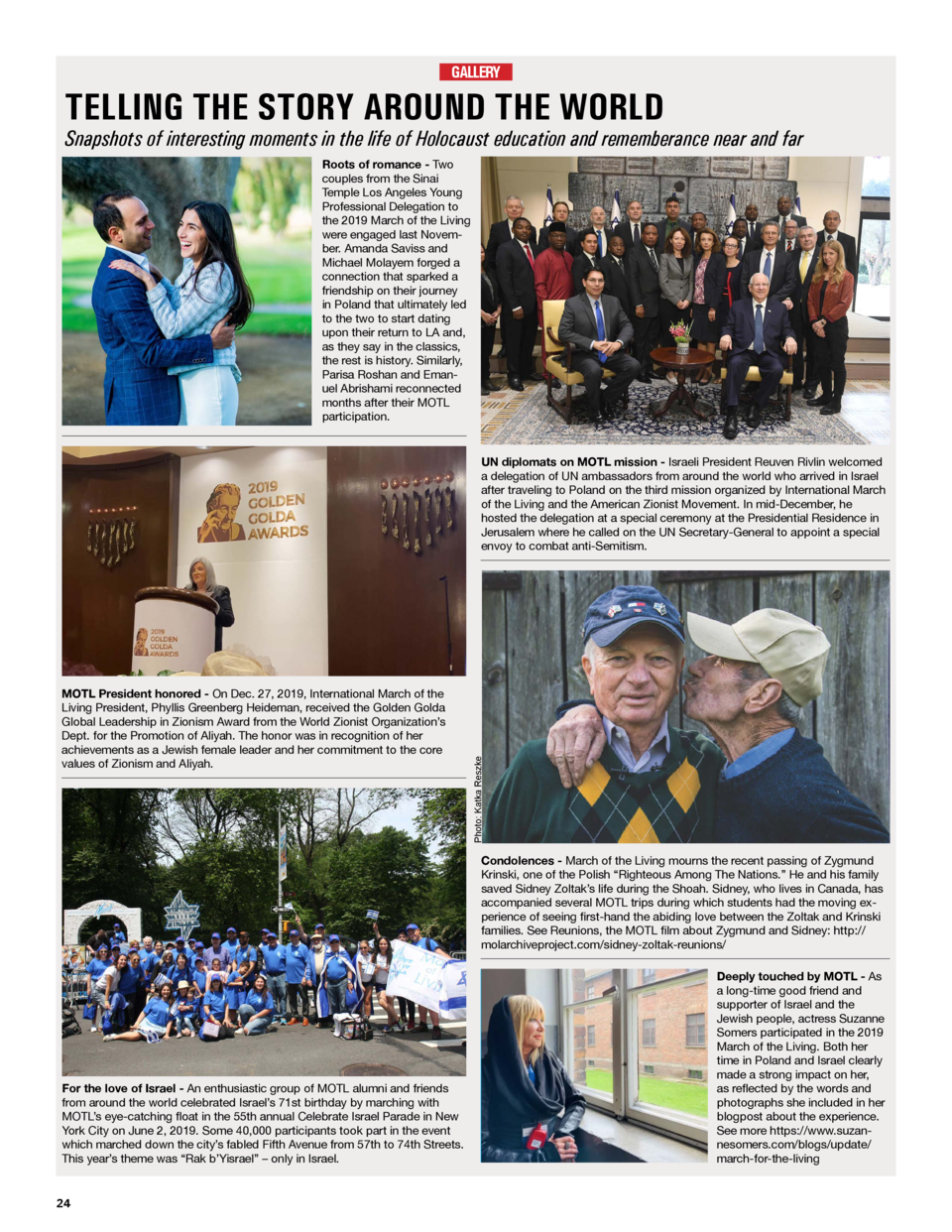 The March Report Issue 4 Winter 2020 International March Of The Living