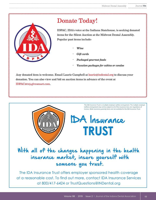 Indiana Dental Association | Journal IDA-Digital Version