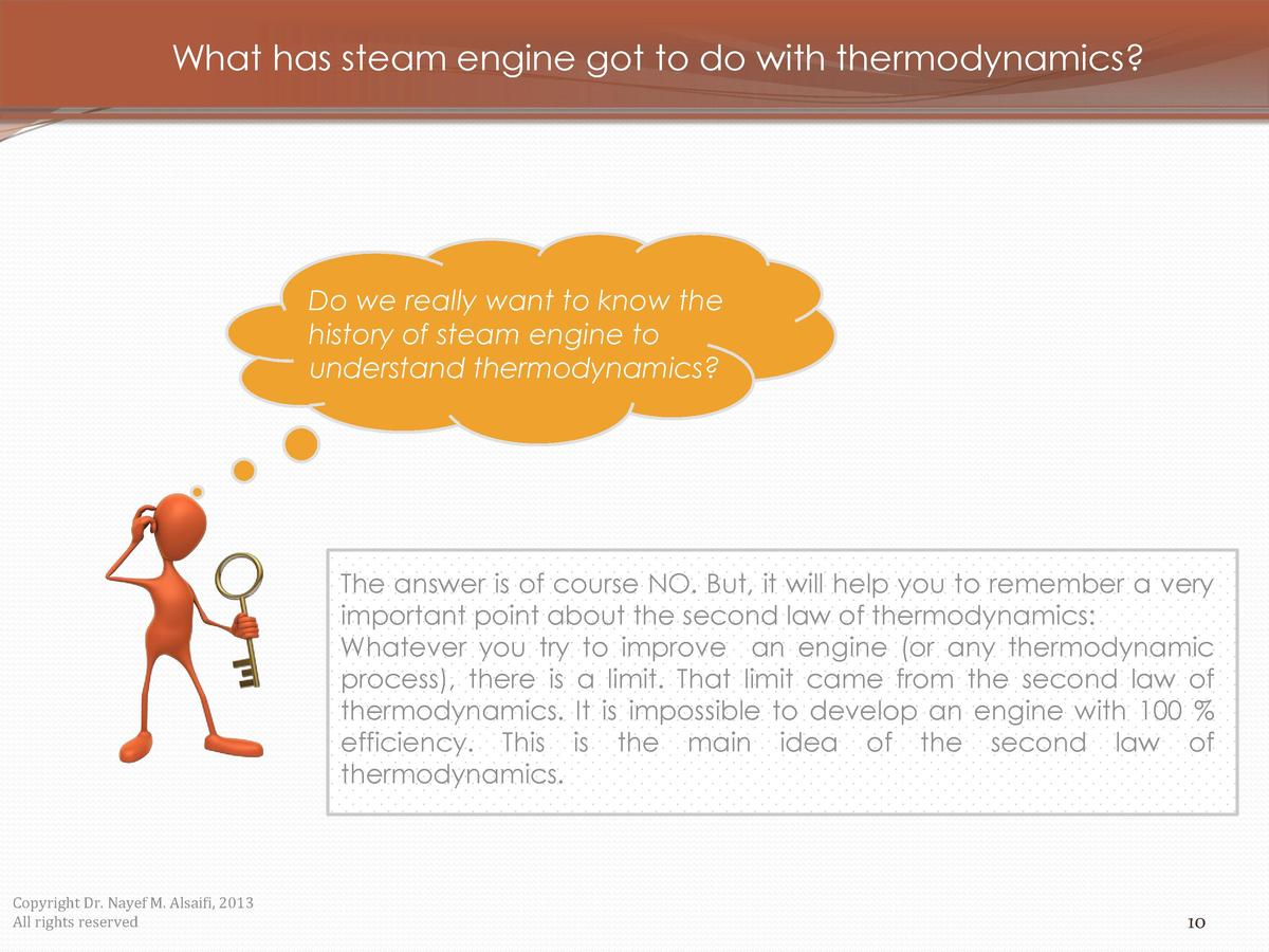 What has steam engine got to do with thermodynamics   Do we really want to know the history of steam engine to understand ...