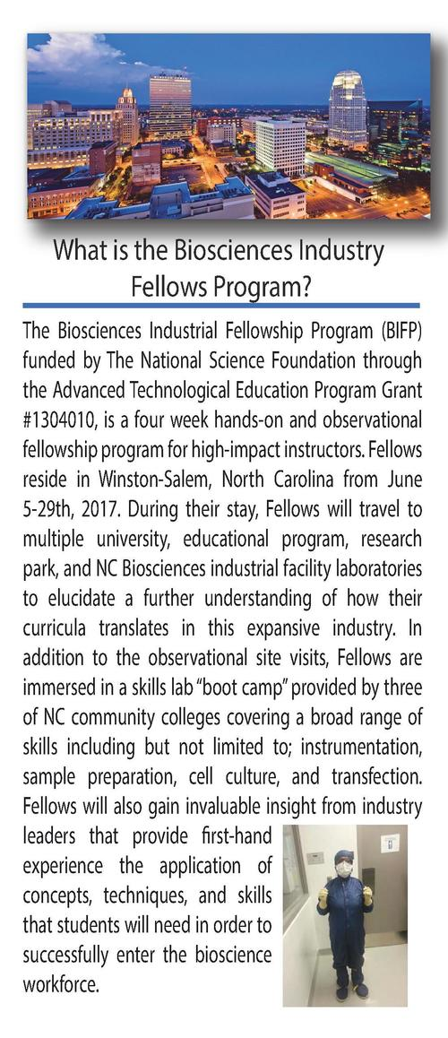 BIFP Leadership Russ H. Read is the BIFP PI.  What is the Biosciences Industry Fellows Program  The Biosciences Industrial...
