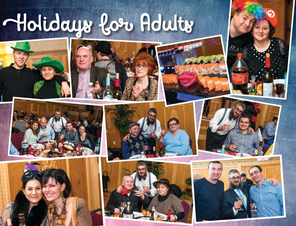 Holidays for Adults  34  BRIS AVROHOM OF FAIR LAWN