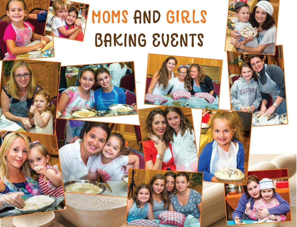 MOMS AND GIRLS BAKING EVENTS  36  BRIS AVROHOM OF FAIR LAWN