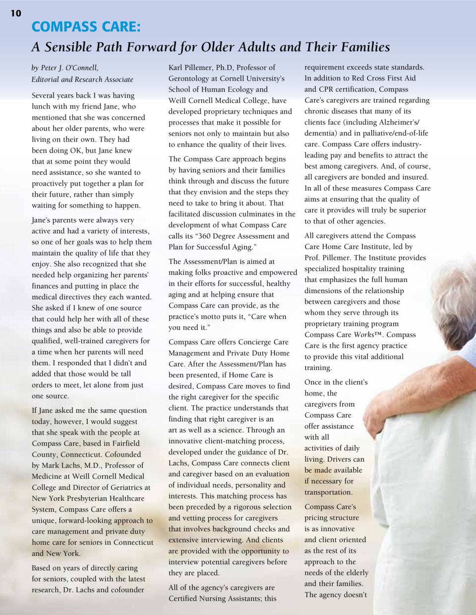 10  COMPASS CARE  A Sensible Path Forward for Older Adults and Their Families by Peter J. O   Connell, Editorial and Resea...