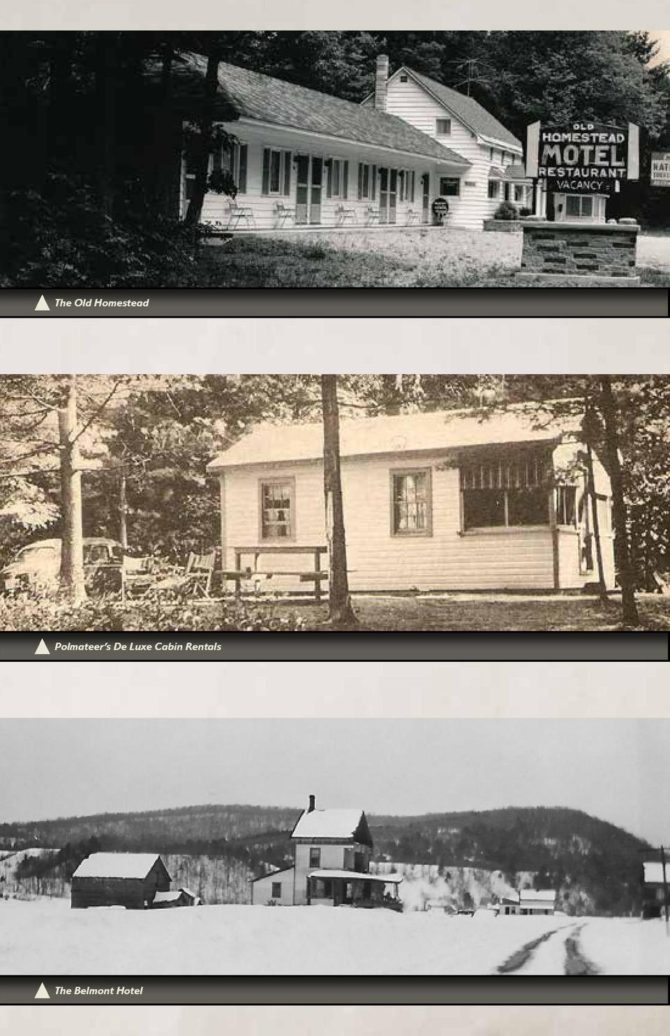 The Old Homestead  Polmateer   s De Luxe Cabin Rentals  32  The Belmont Hotel
