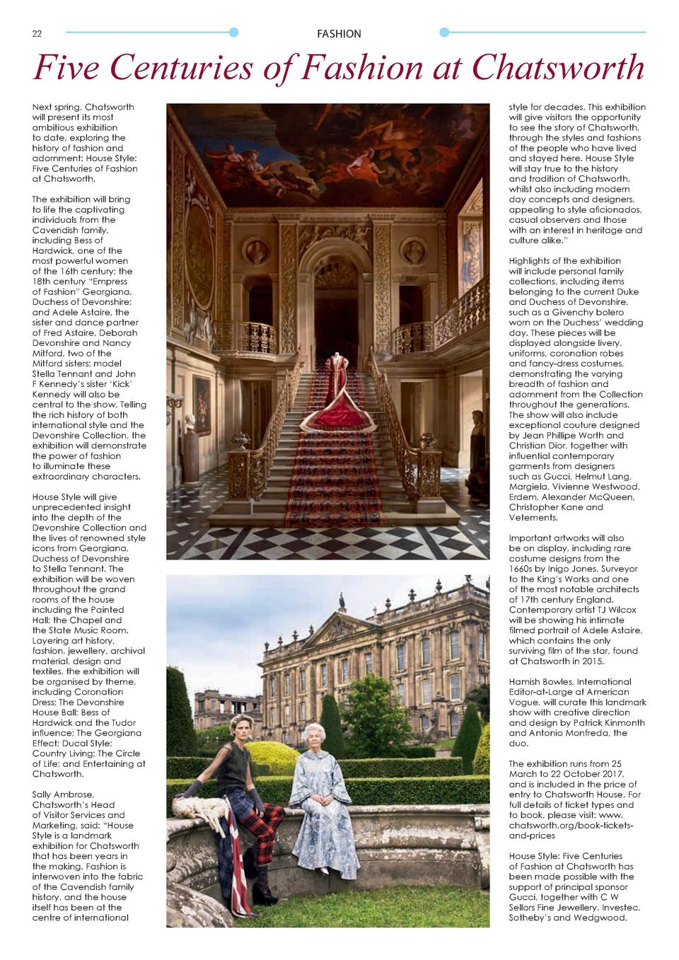 FASHION  FASHION  Five Centuries of Fashion at Chatsworth  It   s all about Getting Groovy and spreading  essielove this w...