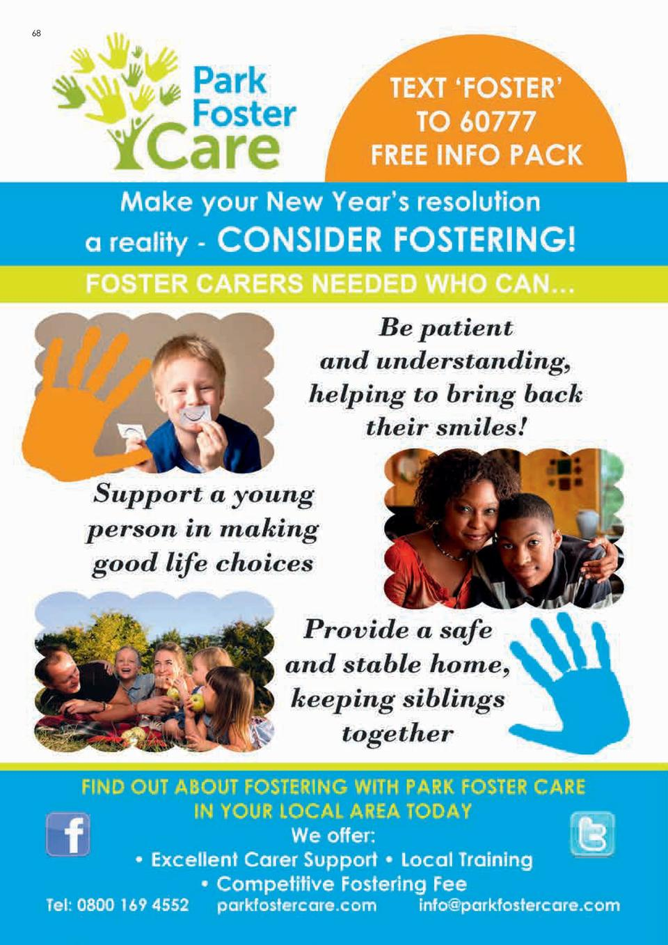 68  69  IT   S 2017, TIME TO KICK START YOU   RE FOSTERING JOURNEY Park   s Training   Support A Foster Carers Perspective...