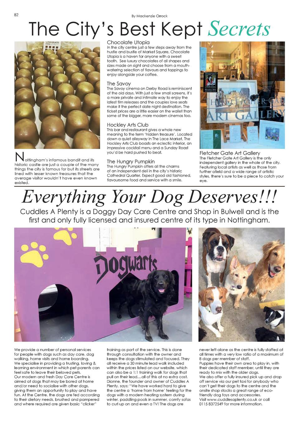 82  The City   s Best Kept Secrets By Mackenzie Orrock  Chocolate Utopia  Survive the seasons with Hygge  83  HyggeBox is ...
