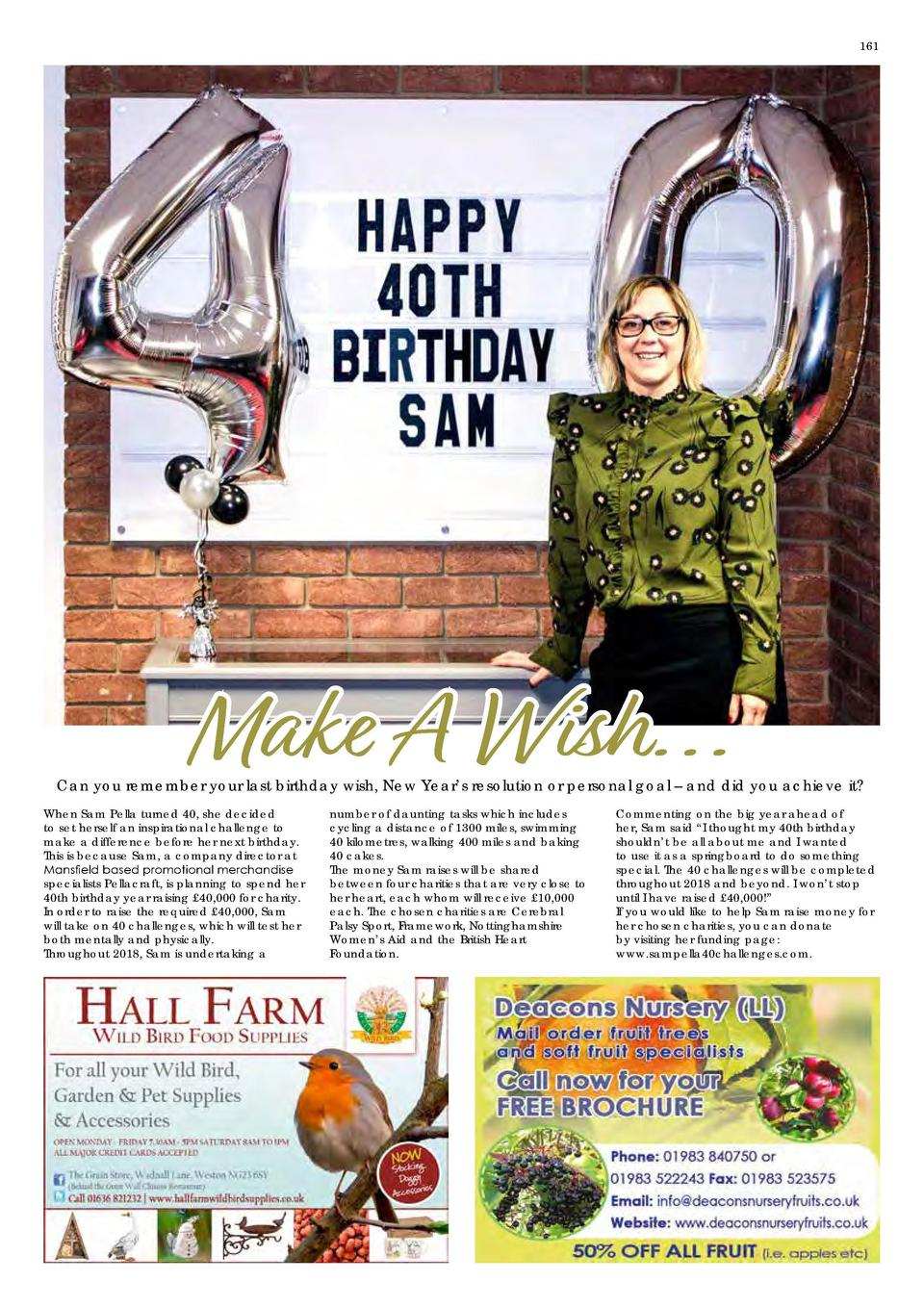 161  Make A Wish     Can you remember your last birthday wish, New Year   s resolution or personal goal     and did you ac...