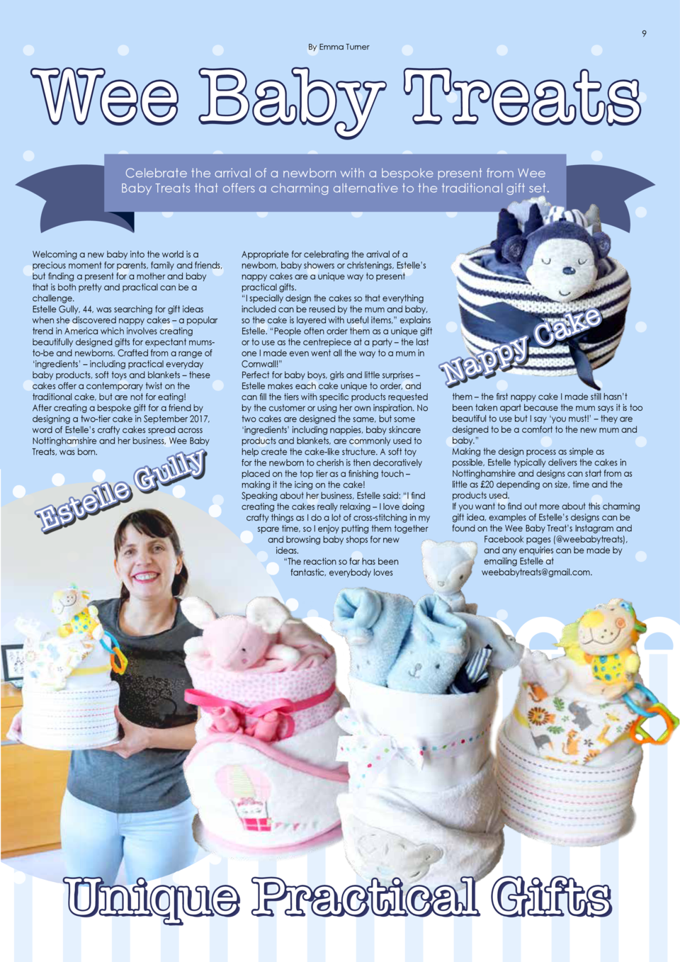 Relive the Moment TRUE REFLECTION PHOTOGRAPHY  8  9  By Emma Turner  By Emma Turner  Wee Baby Treats Celebrate the arrival...
