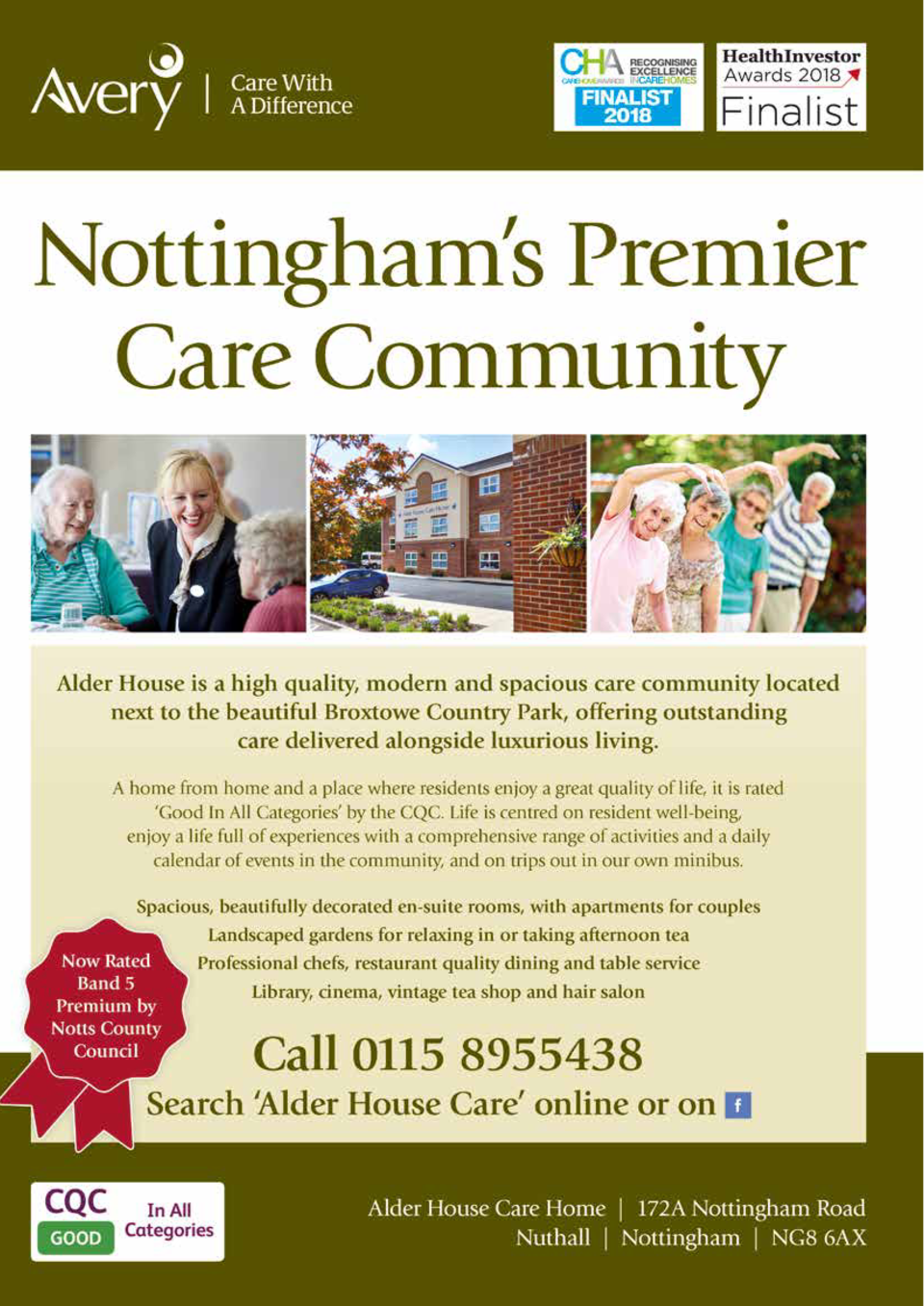 CARE   WELLBEING  129  Your Local Hospital Woodthorpe Hospital, 748 Mansfield Road, Woodthorpe, Nottingham, NG5 3FZ.  Your...