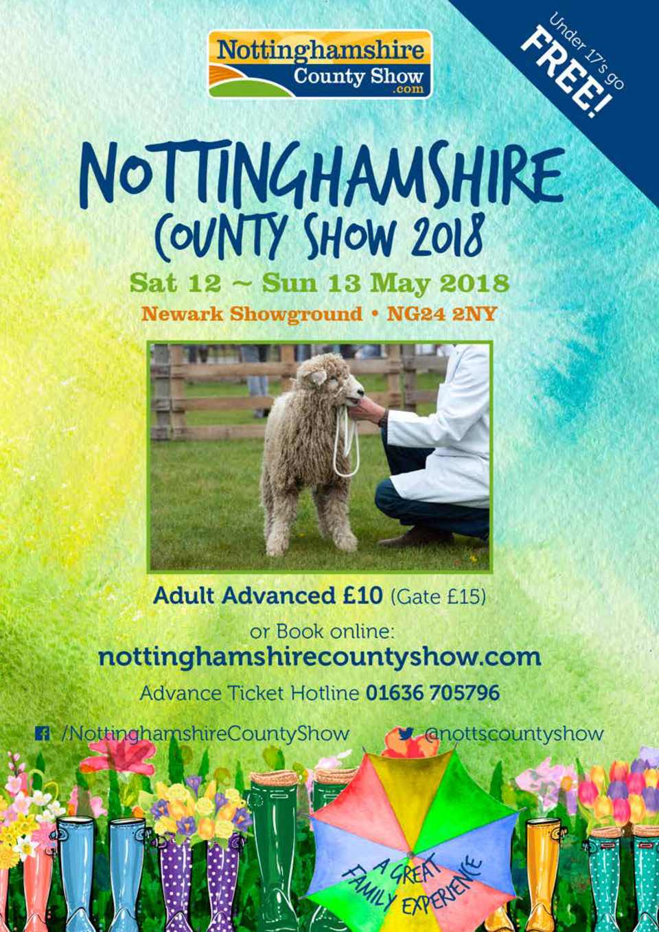 Experience a Unique show  Experience a fabulous family day out this spring at Nottinghamshire County Show. With plenty goi...