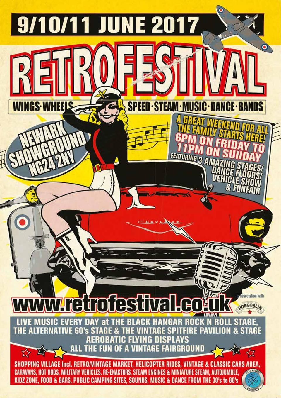 Newark gets the Retro Vibe OUT   ABOUT  81  Retro Festival, the largest festival of all things past in the UK, will be hea...