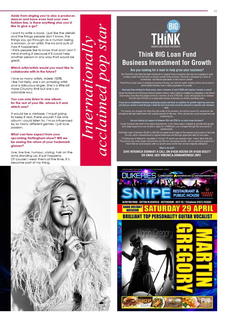 An Interview with Anastacia By Mackenzie Orrock  She   s sold millions of records worldwide, taken the title for World   s...