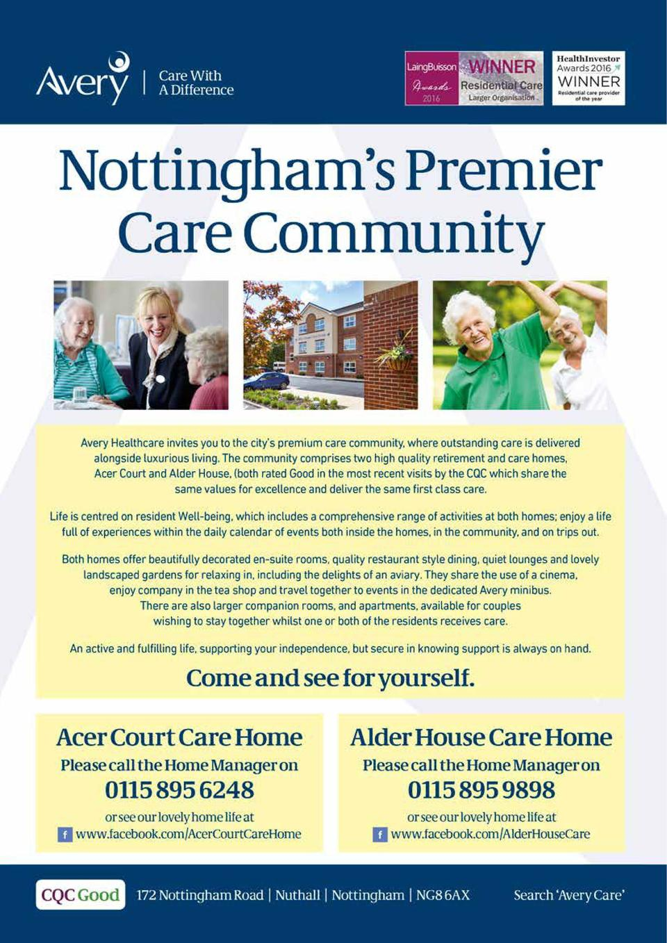 Trees Of Life CARE  Age UK Notts is celebrating its 75th birthday this year. With the support of Rothera Sharp Solicitors,...