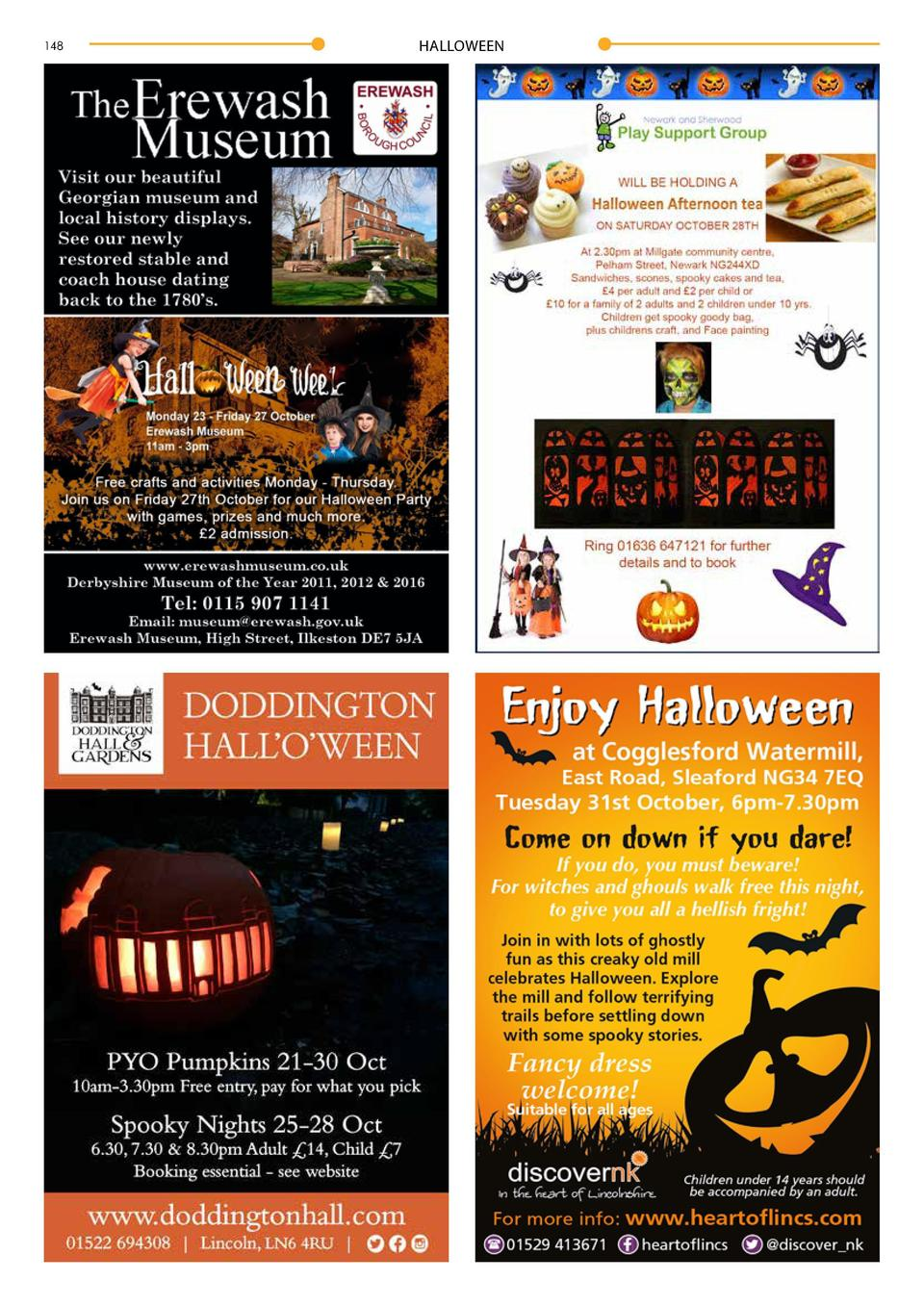 148  HALLOWEEN  HALLOWEEN  149  By Maddie Storey  Marking the transition of autumn to winter, Halloween has become a widel...