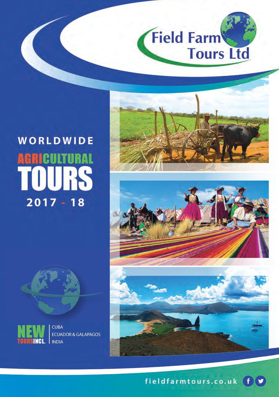 NEW  TOURSINCL.  CUBA ECUADOR   GALAPAGOS INDIA  1