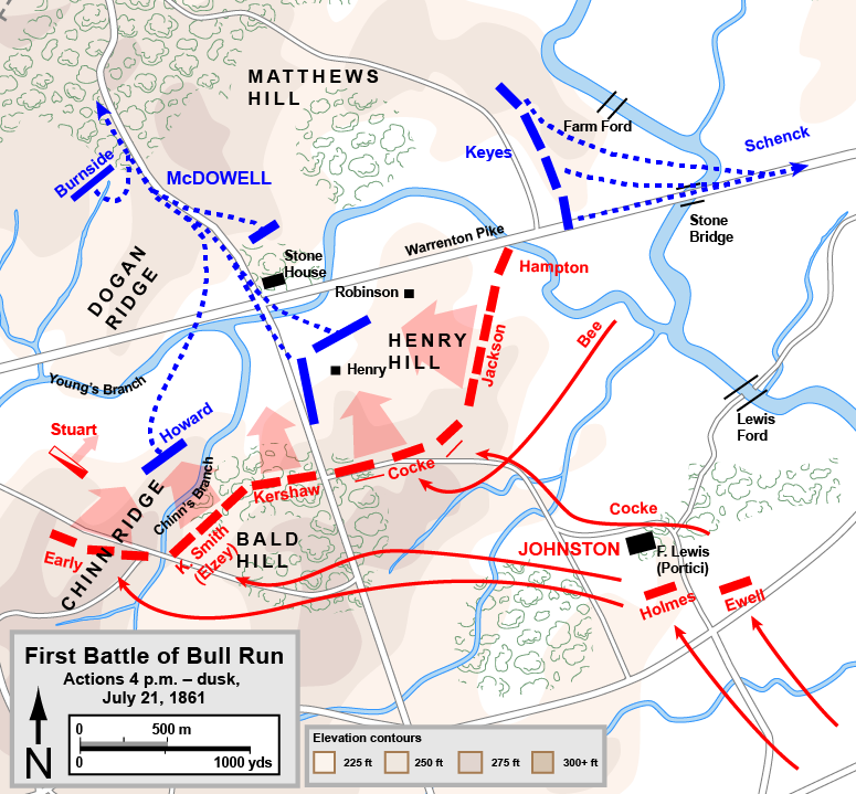 a history of the second battle of bull run in the american civil war History elective 2014 battles of the american civil war presentation.
